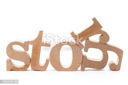 1018285596 istock photo Story wood word 1002026788