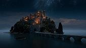 istock Storybook Castle 1219474360