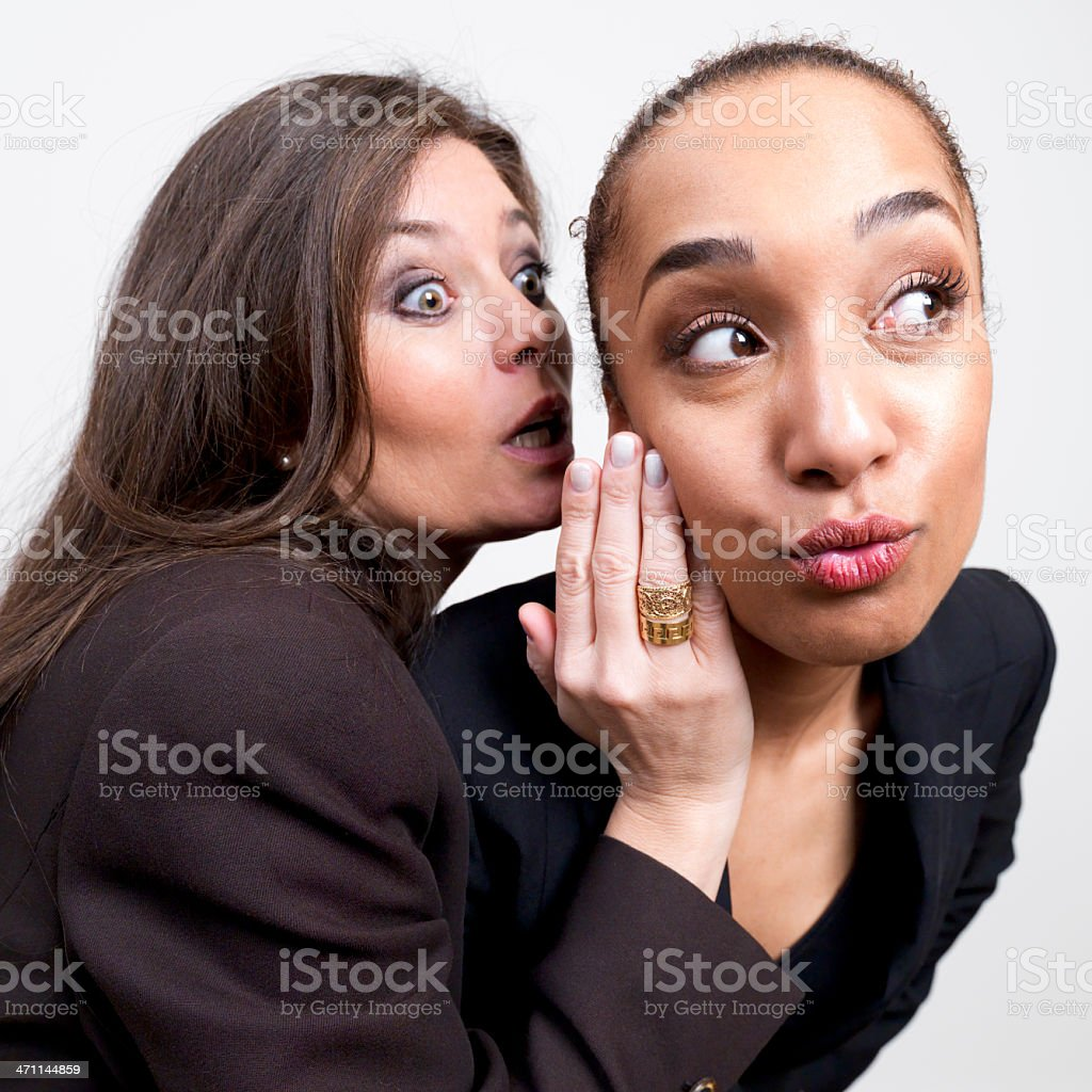 Storytelling, Gossip royalty-free stock photo