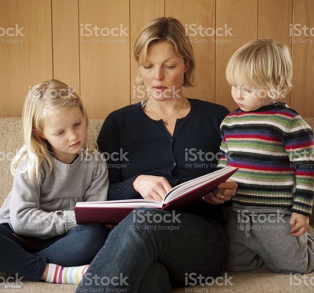 Storytime royalty-free stock photo