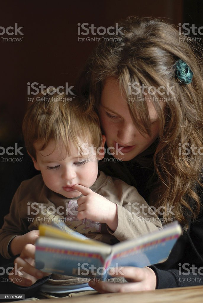Storytime2 royalty-free stock photo