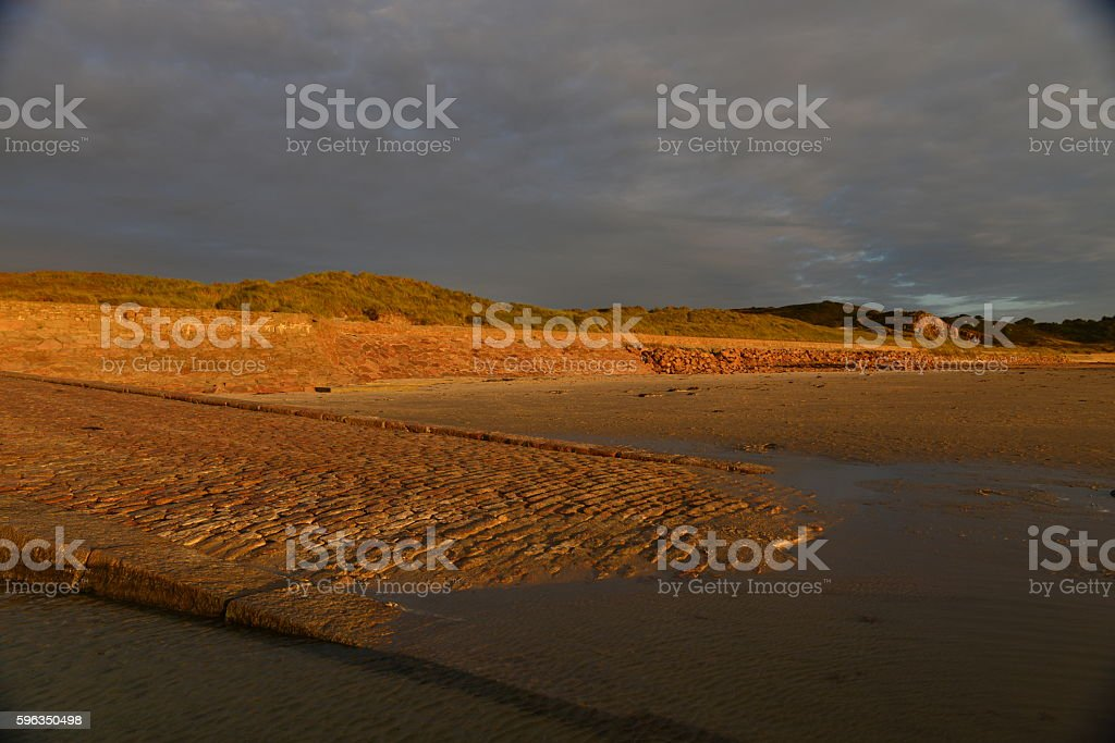 St.Ouen's Bay, Jersey, U.K. royalty-free stock photo