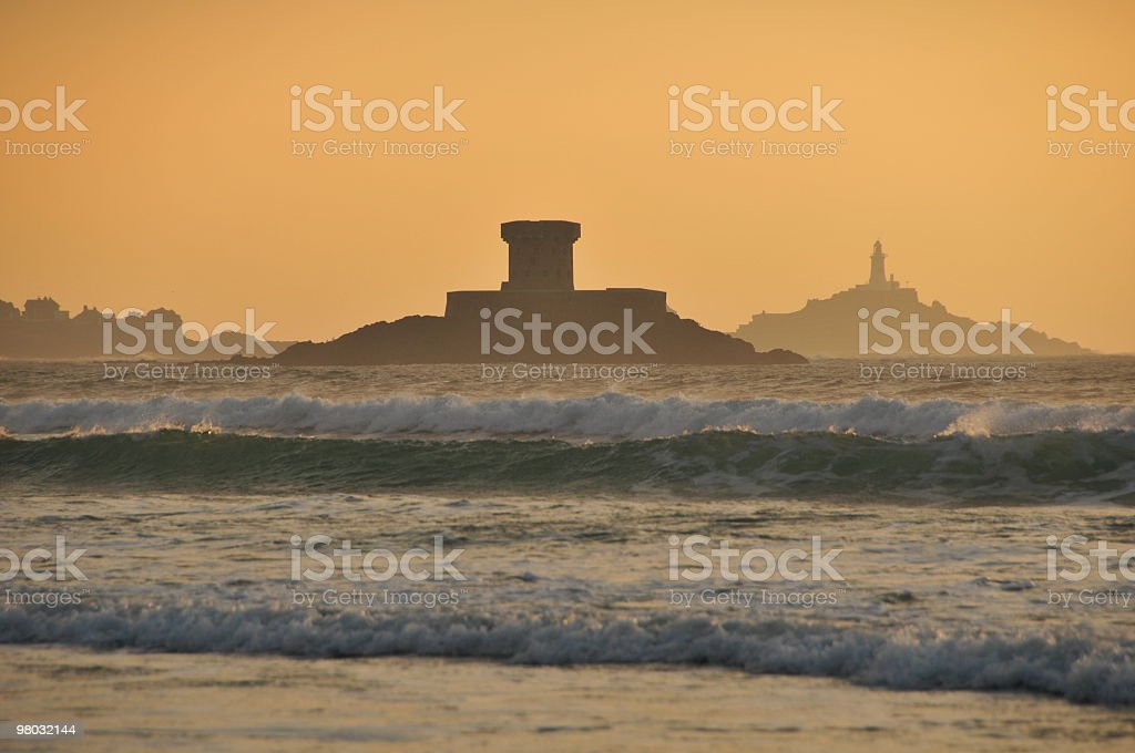 St.Ouen's bay,Jersey. royalty-free stock photo