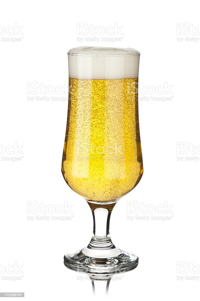 Stout Beer Glass royalty-free stock photo