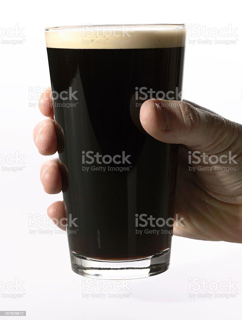 Cerveza Stout - foto de stock