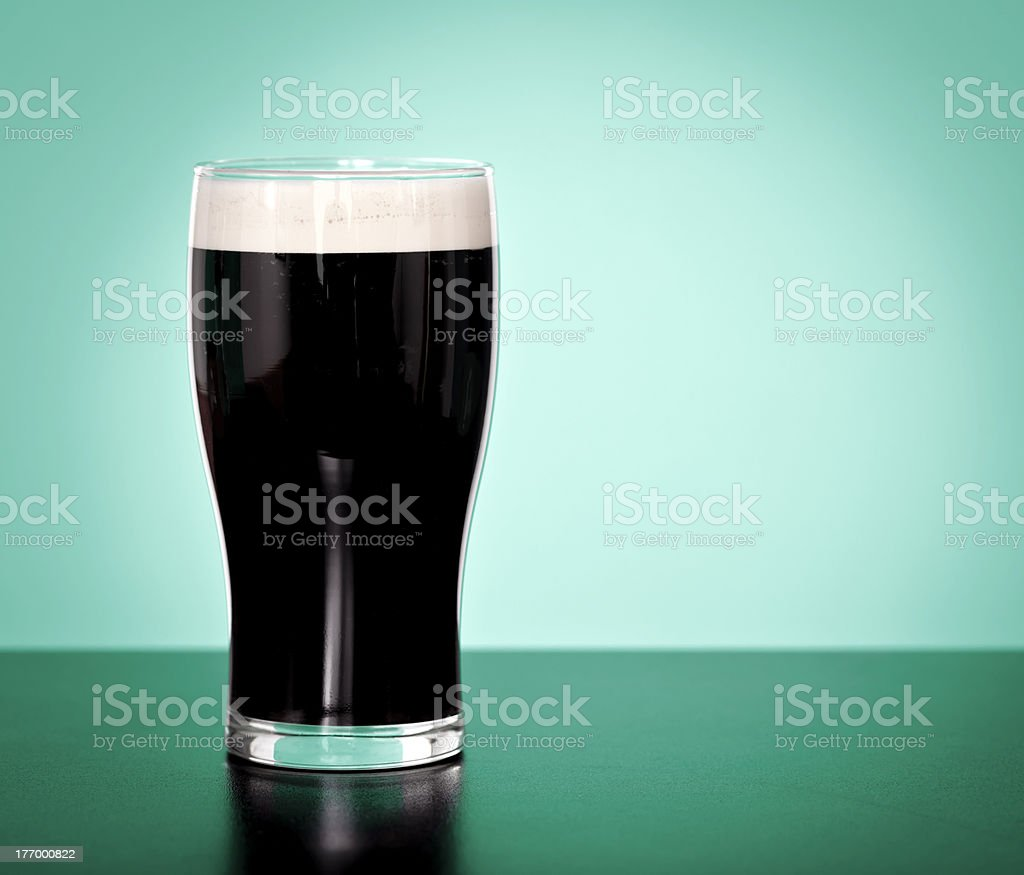 Stout stock photo