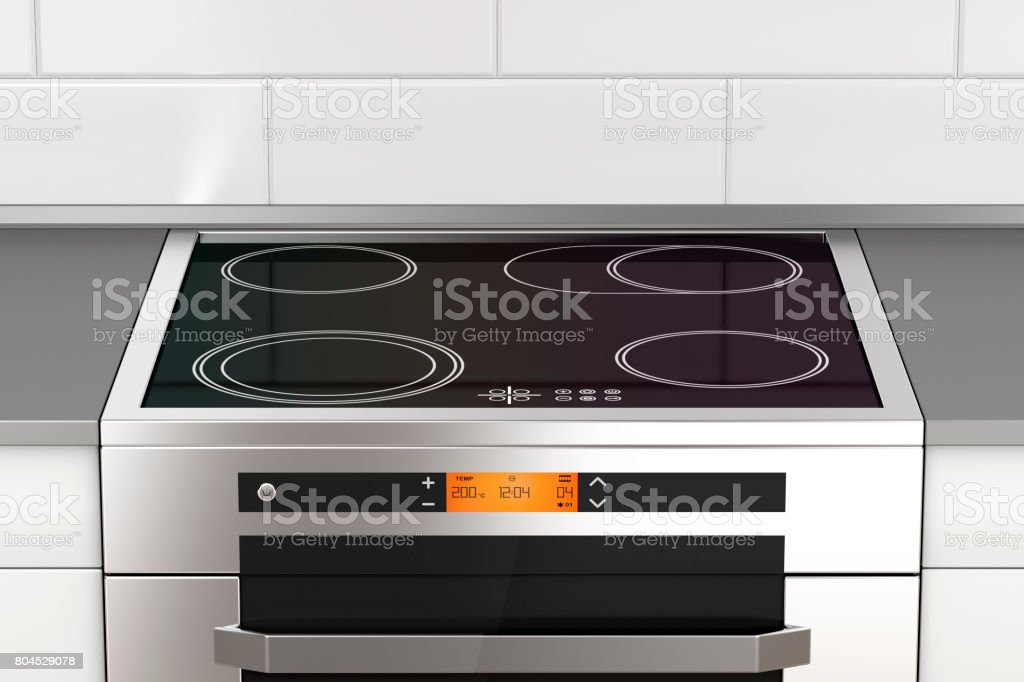 Stove With Induction Cooktop Stock Photo Download Image Now Istock