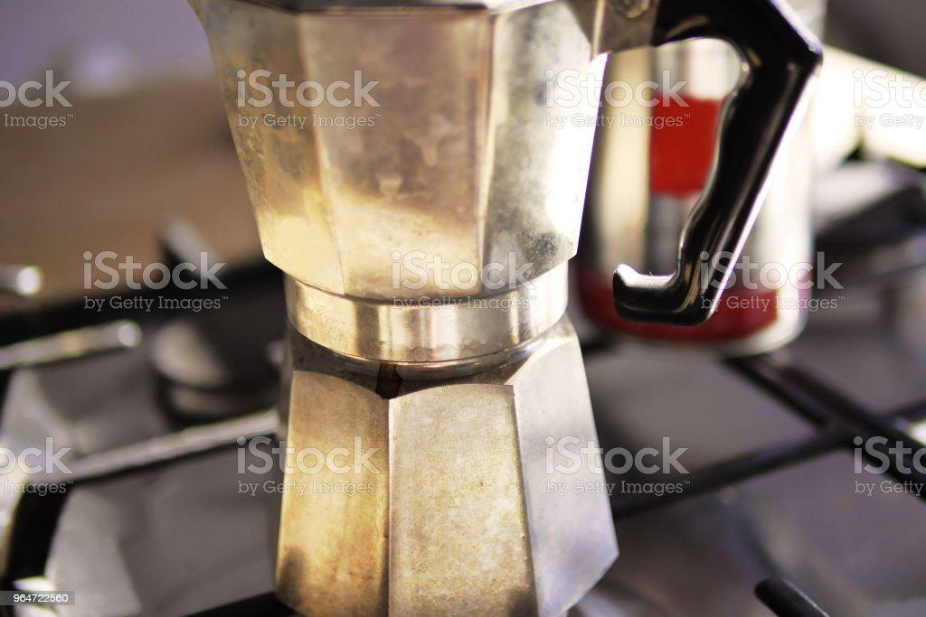 Stovetop Espresso Maker royalty-free stock photo