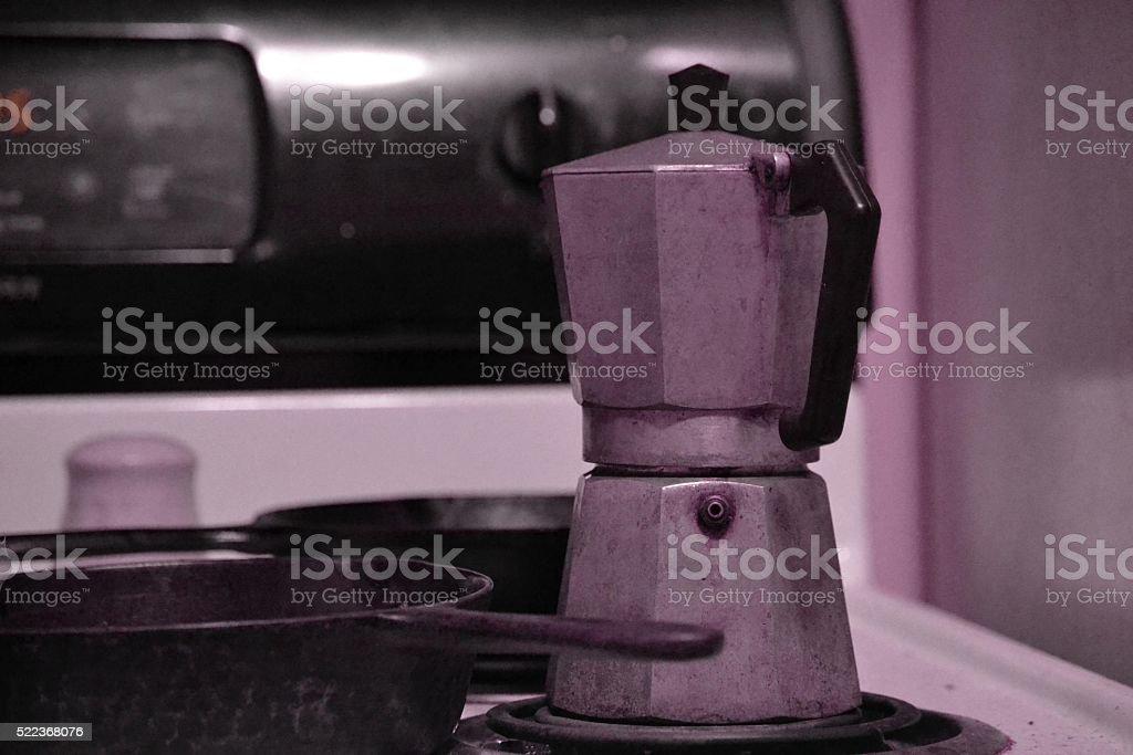 Stovetop_Espresso stock photo