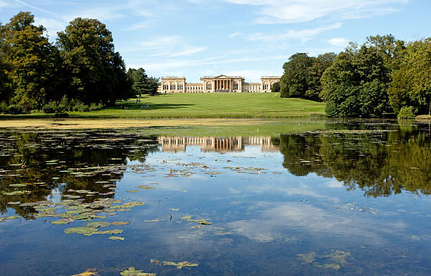 Stowe house Stowe house, country house located in Stowe, Buckinghamshire buckinghamshire stock pictures, royalty-free photos & images