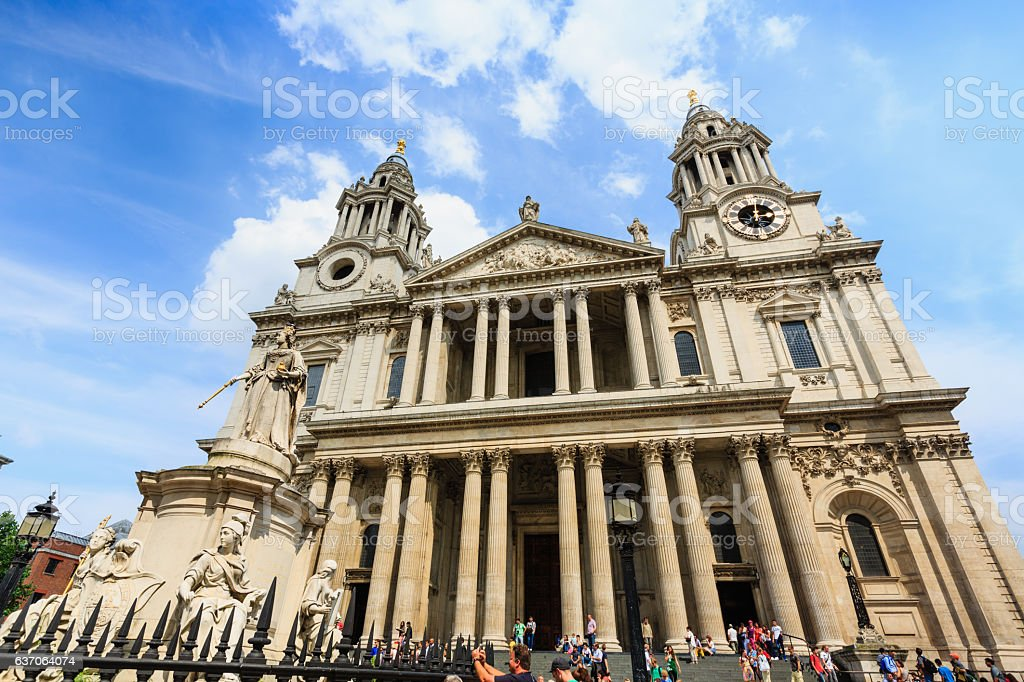 St.Paul Cathedral at London. – Foto