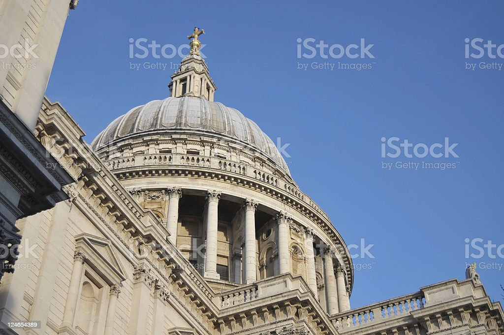 St.Paul's Cathedral, London, UK royalty-free stock photo