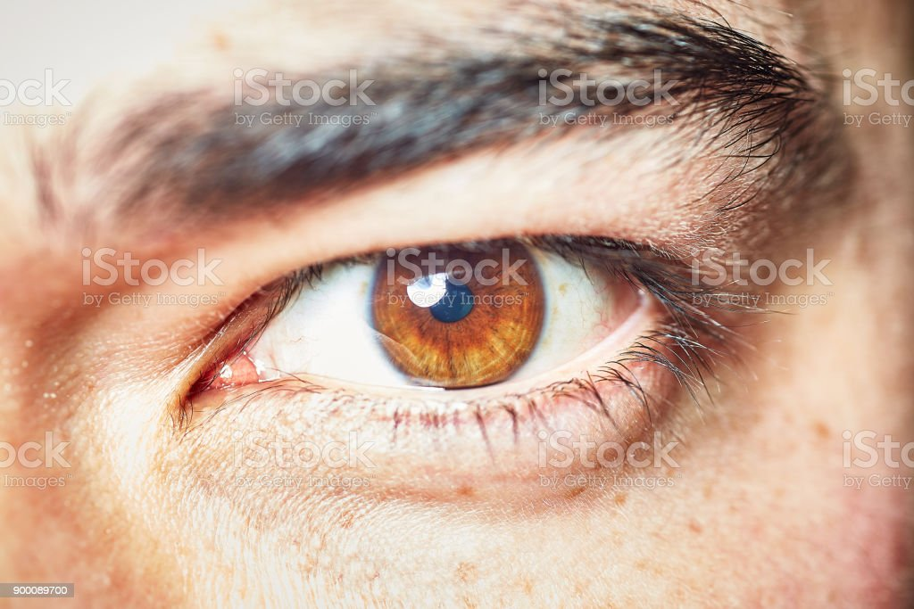 Straight at you stock photo