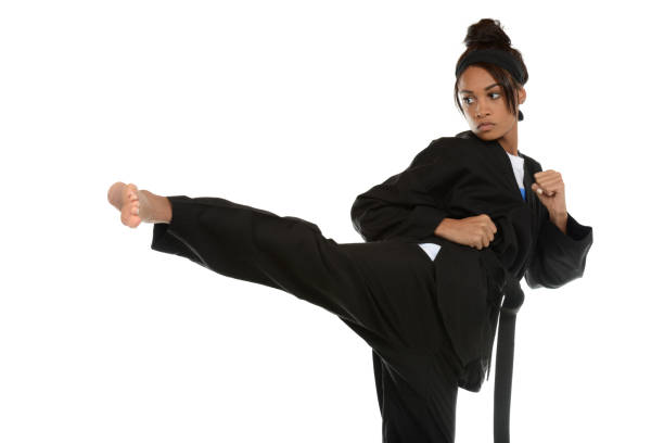 straight in - martial arts gerville stock pictures, royalty-free photos & images