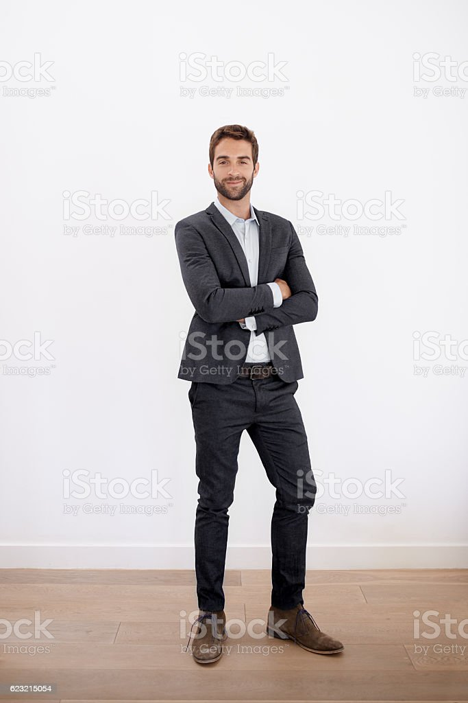 Straight up style stock photo