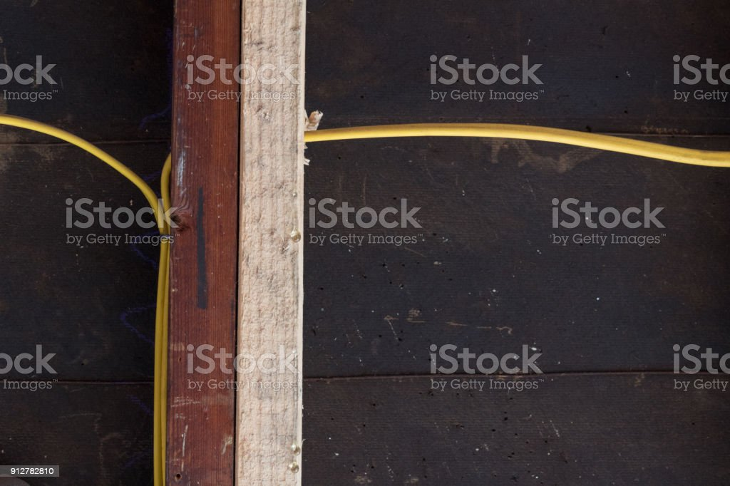 Straight View Of Sistering Of Old And New Wall Studs For Structural ...