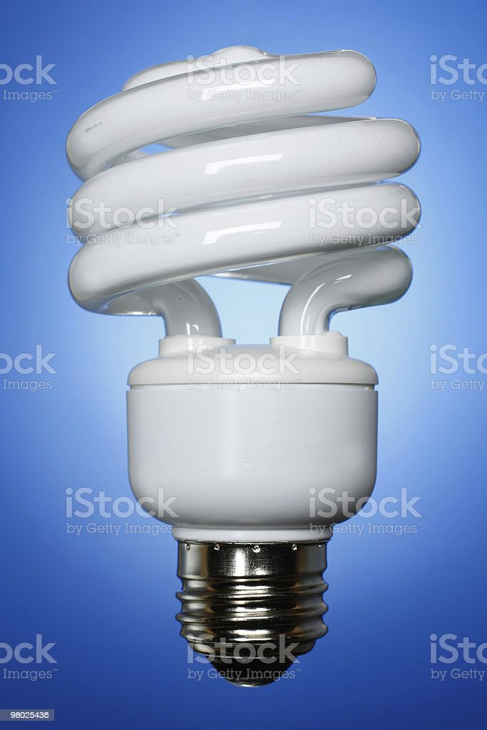 Straightforward CFL royalty-free stock photo