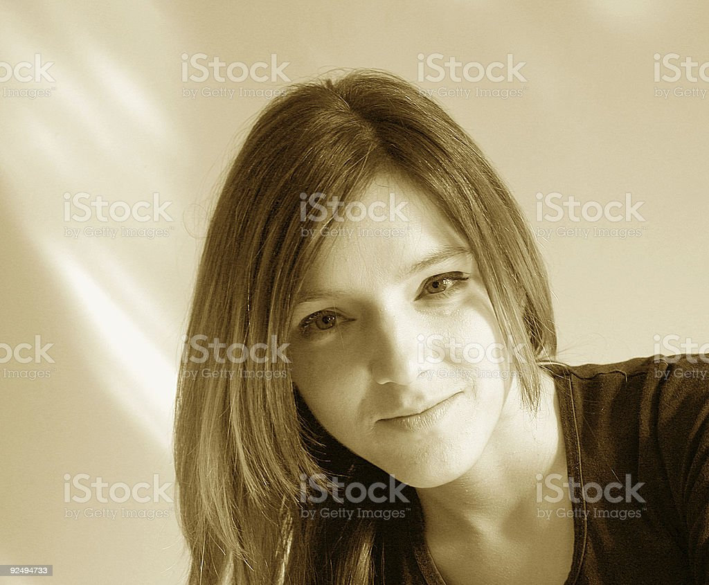 Straightway royalty-free stock photo
