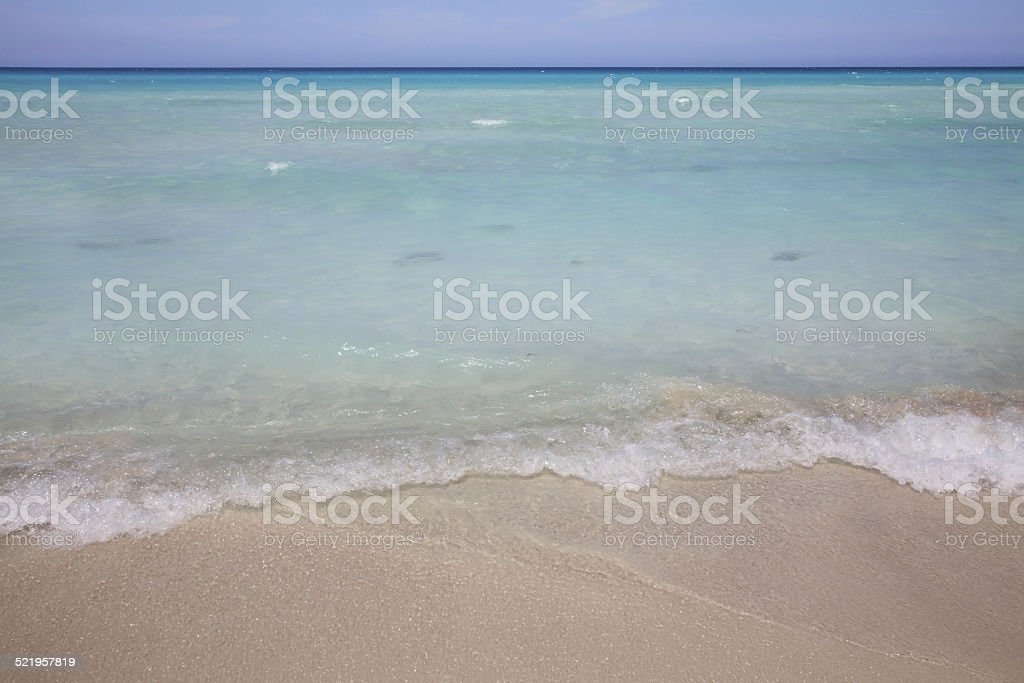 Straits of Florida in Varadero. Cuba stock photo