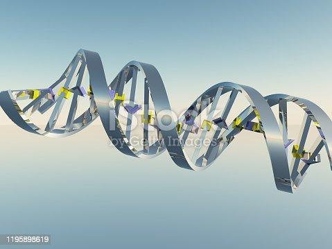 istock DNA Strand 1195898619