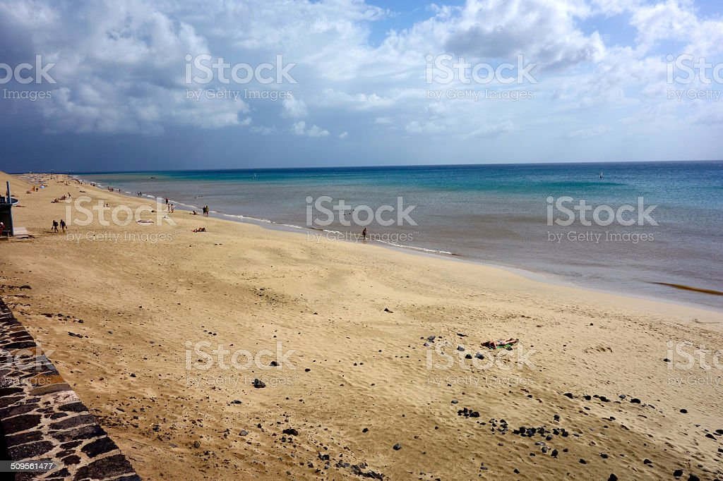 Strand stock photo