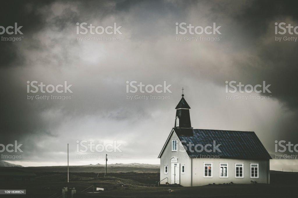 Strandarkirkja Kirche, Island – Foto
