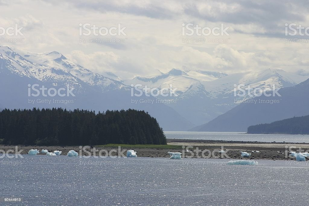 Stranded Icebergs #1 royalty-free stock photo