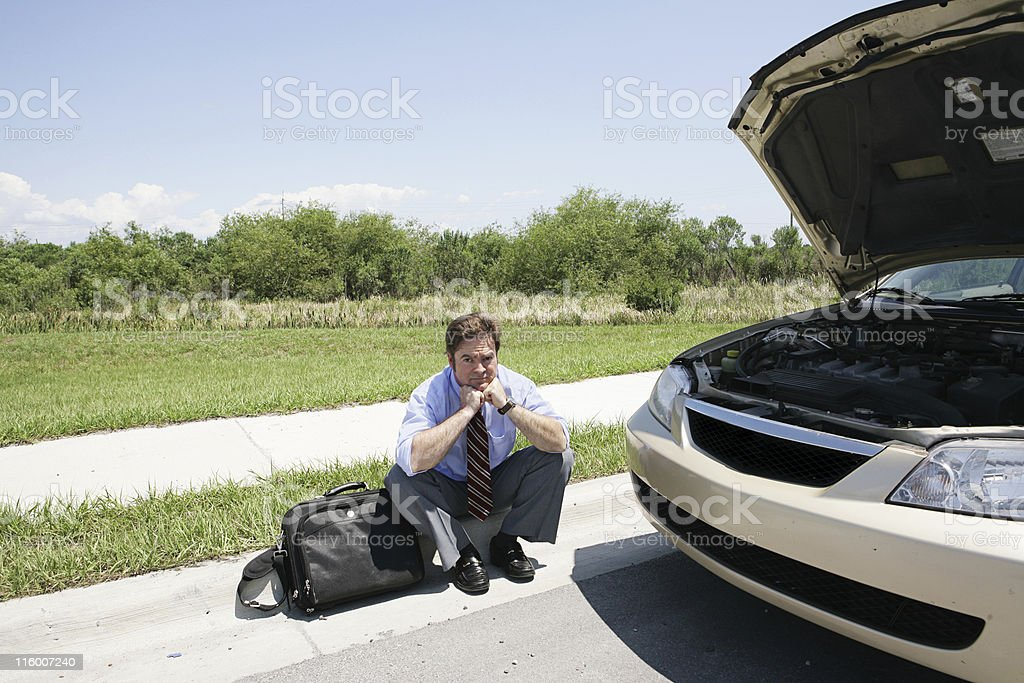 Stranded Self-Pity royalty-free stock photo