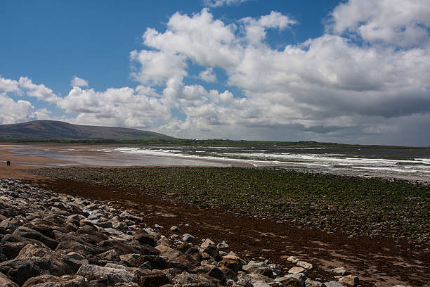 Strandhill Beach Sligo on the Wild Atlantic Way stock photo