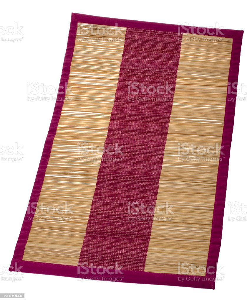 Strandmatte stock photo