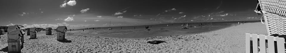 Strandpanorama Stockfoto und mehr Bilder von Deutschland