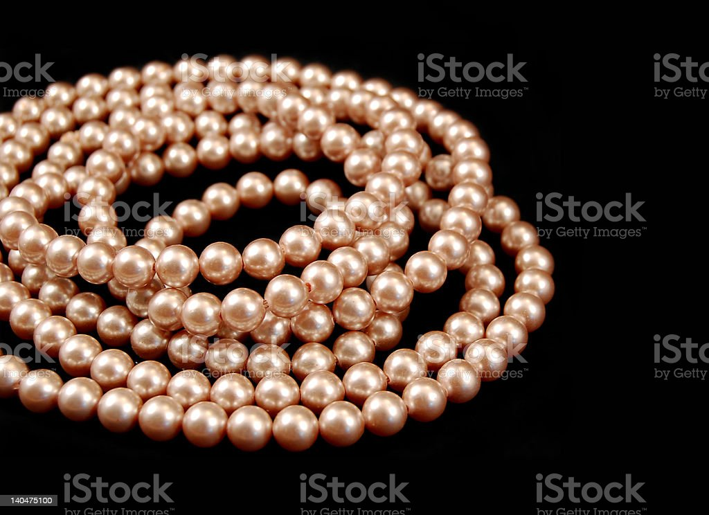 Strands of Pearls royalty-free stock photo