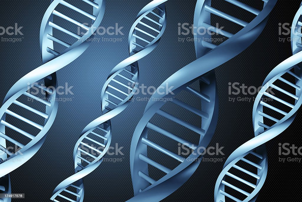 DNA Strands (XXL) royalty-free stock photo