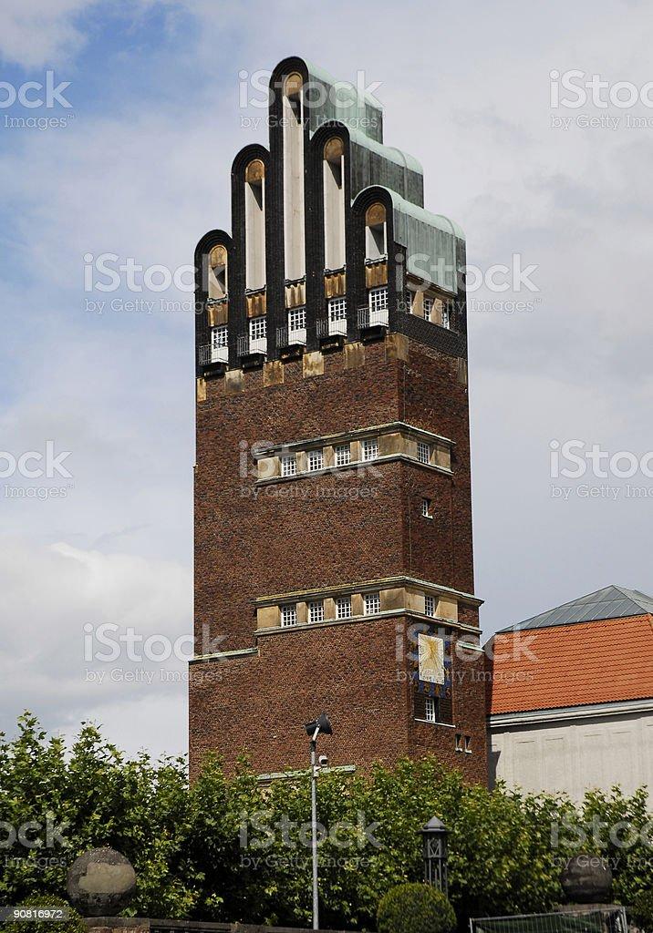 strange architecture royalty-free stock photo