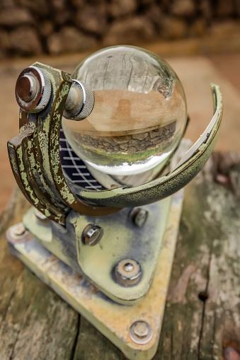 Strange old nautical device