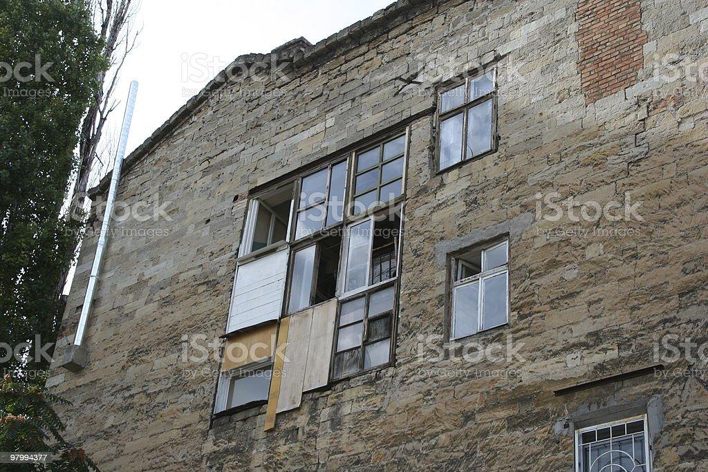 strange window royalty-free stock photo