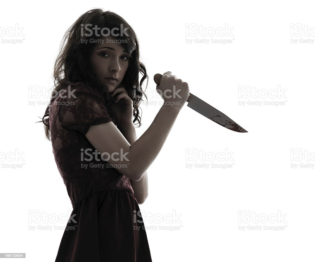 Image result for girl with knife