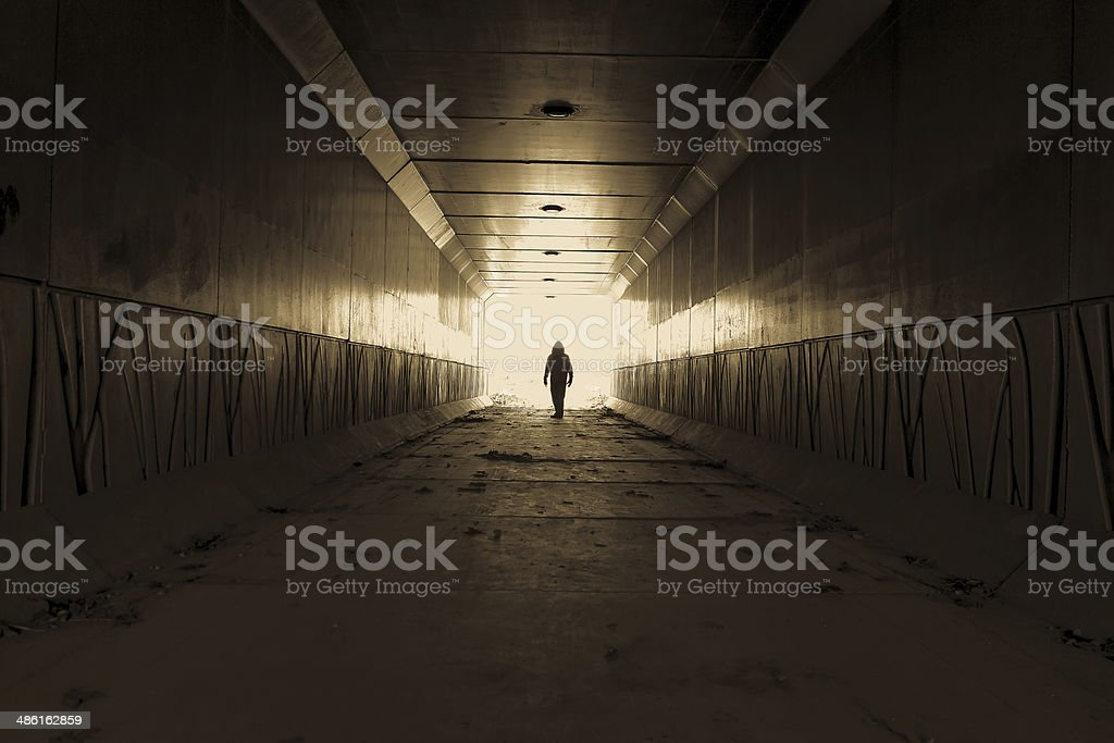 Stranger Danger stock photo