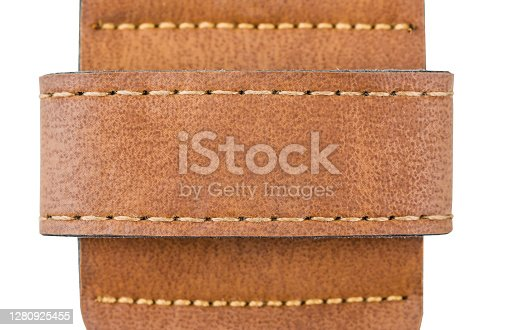 Part of the strap for jeans can use as background