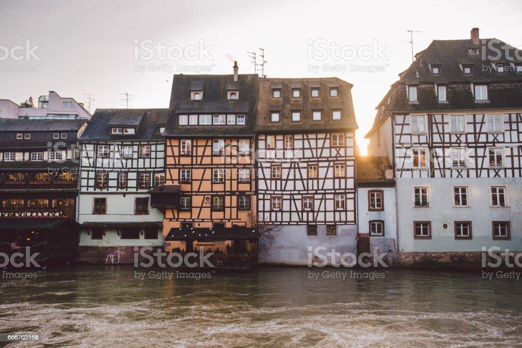 Strasbourg,. Alsace, France. stock photo