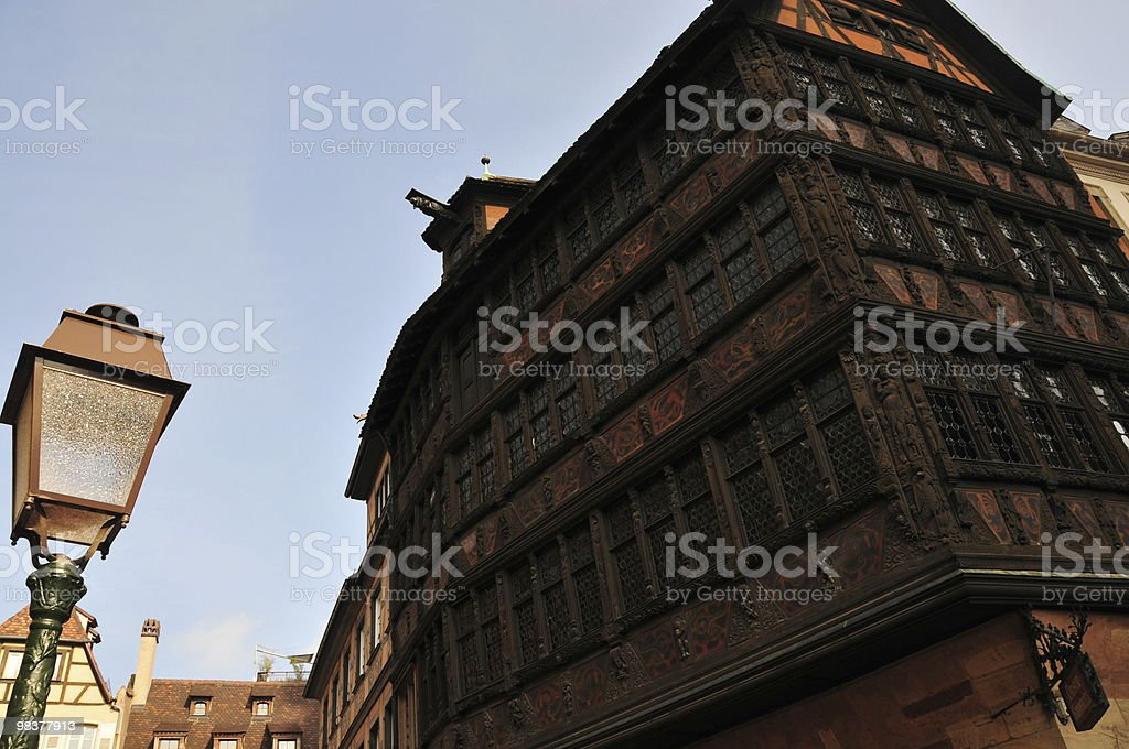 Strasbourg Old Town royalty-free stock photo