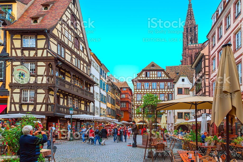 Strasbourg royalty-free stock photo