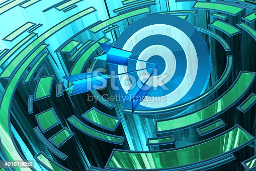 istock Strategic business solution and marketing strategy purpose concept 491619652