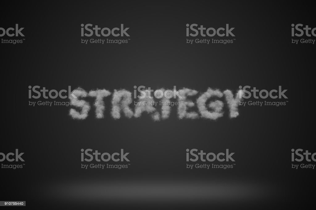 Strategy Background stock photo