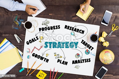 625727674 istock photo Strategy Business Concept 870467856