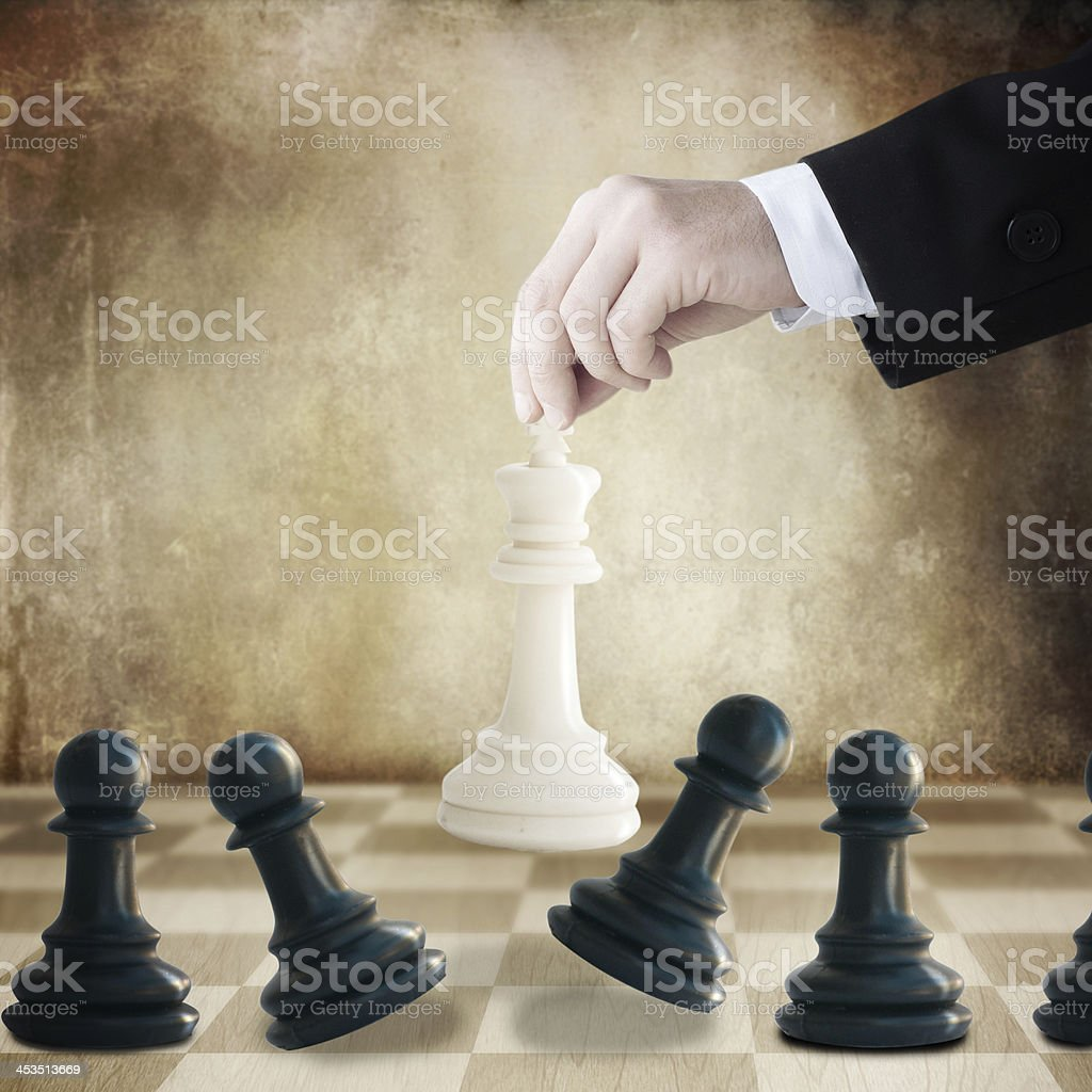 Strategy concept royalty-free stock photo