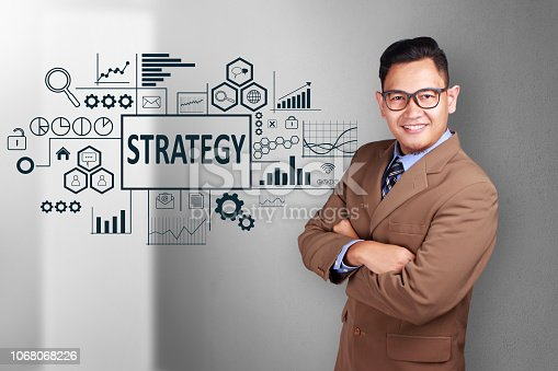1027533352 istock photo Strategy in Business Concept 1068068226