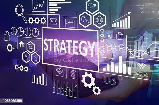185257431 istock photo Strategy in Business Concept 1068069398