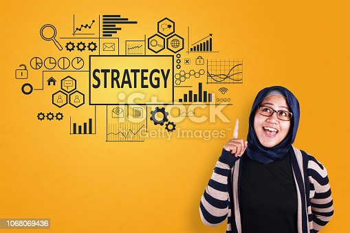 1027533352 istock photo Strategy in Business Concept 1068069436