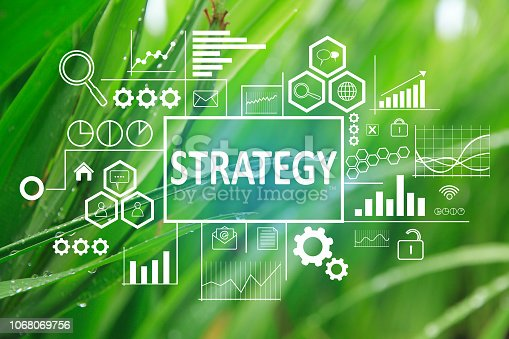 185257431 istock photo Strategy in Business Concept 1068069756